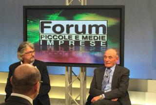 Aldo Romanini Segretario Generale Assimpresa Ospite Della Trasmissione FORUM PMI Su Telelombardia