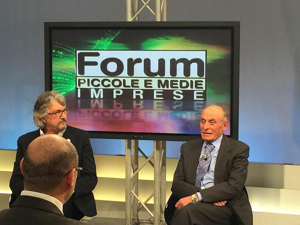 2016-02-17 Aldo Romanini Segretario Generale Assimpresa Trasmissione Telelombardia FORUM PMI (5)
