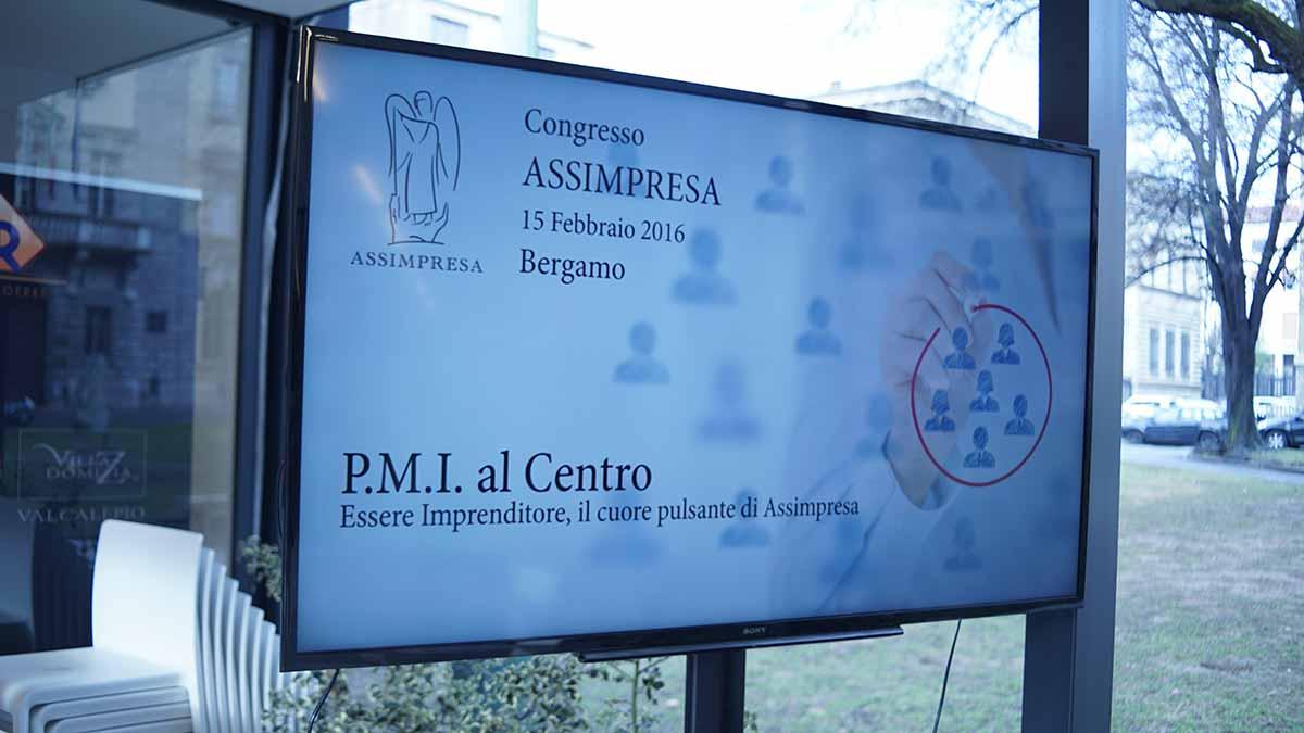 Congresso Assimpresa. PMI Al Centro