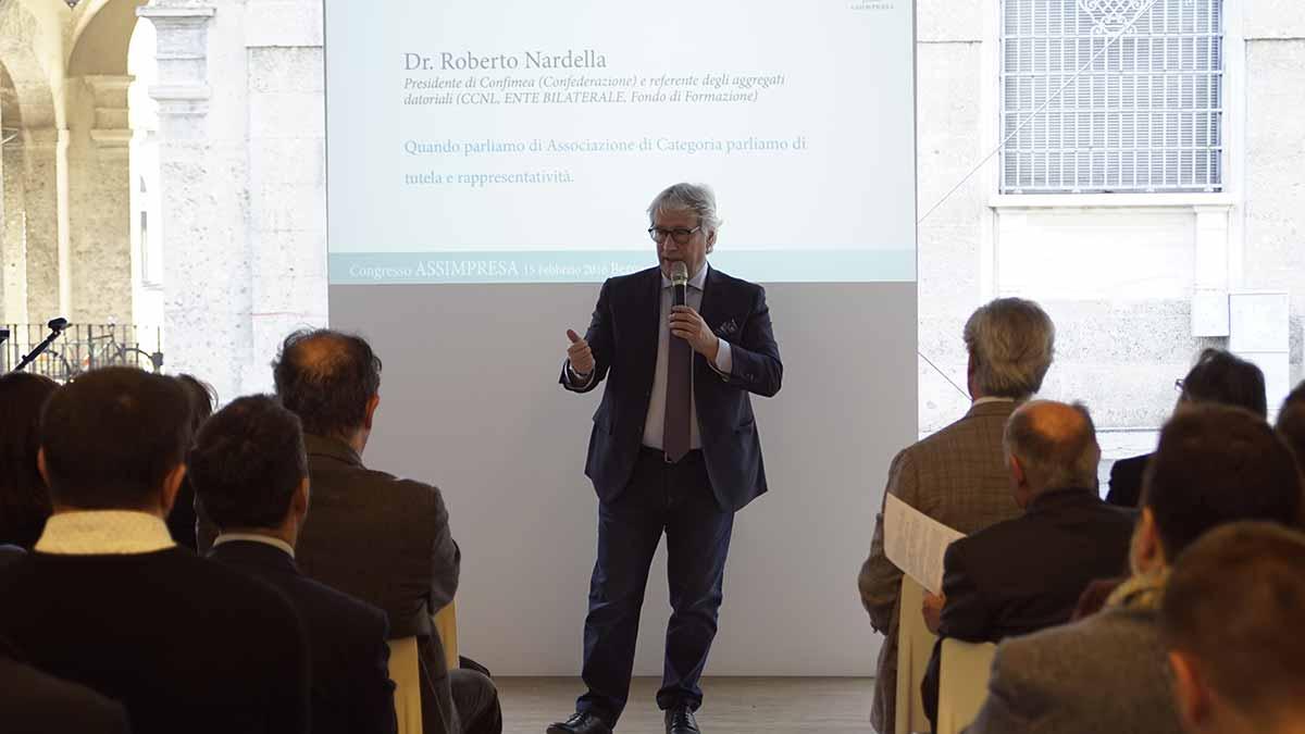 Dr. Roberto Nardella, Presidente Confimea
