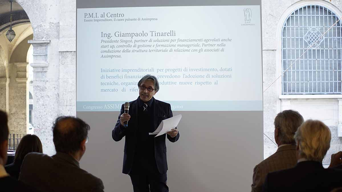 Luca Ricci, Presidente Singest (5)