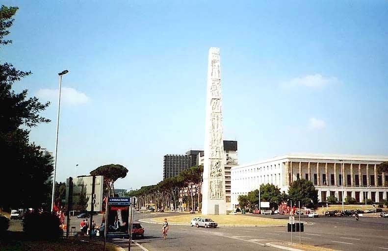 Piazza Marconi Roma EUR