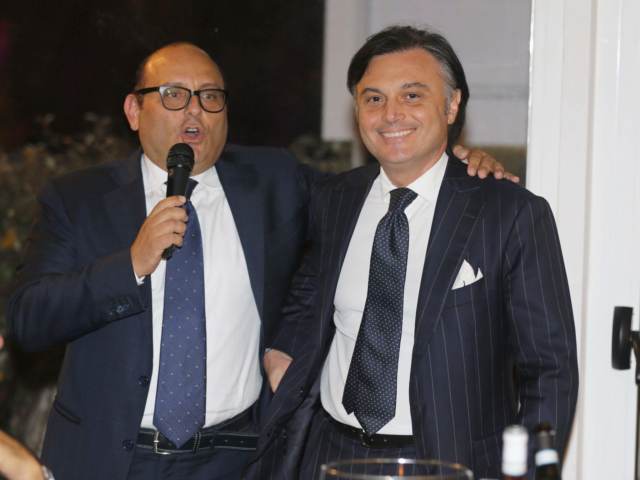 Il Pres. Nazionale Assimpresa Antonio Fortuna E Il Pres. Chieti-Pescara Ernesto Petricca